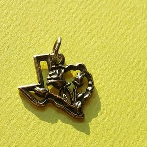 James Avery Sterling Silver Yellow Rose of Texas